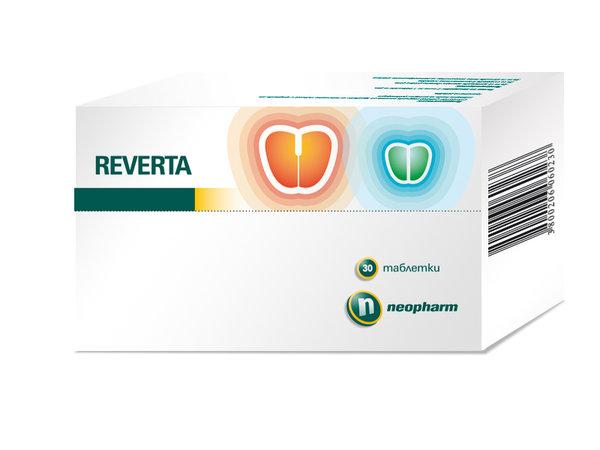 Реверта (Reverta) таблетки x30